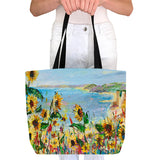 Tote Bag - Cliff View