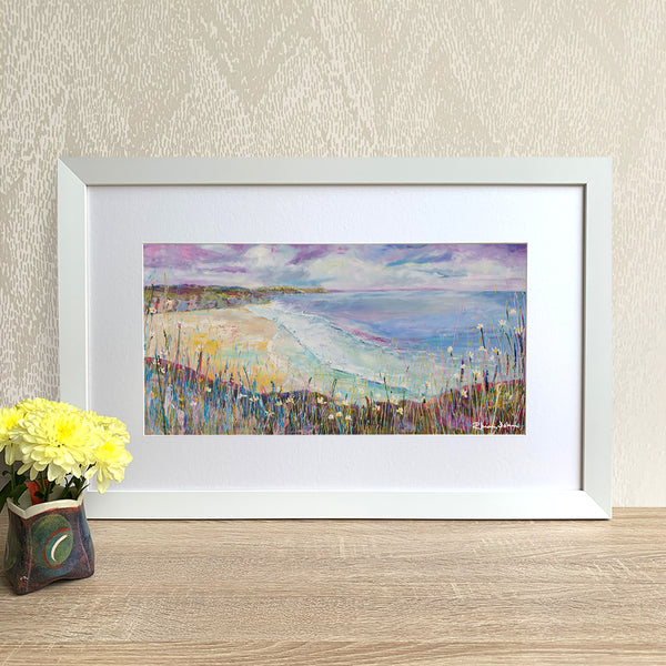 Framed Print - Gentle Waves