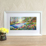 Framed Print - River