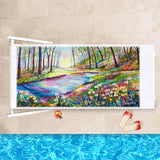 Beach Towel - River