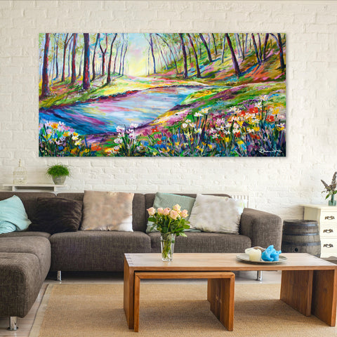 Canvas Print of 'River'