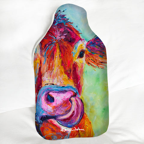 Hot Water Bottle - Jersey Cow