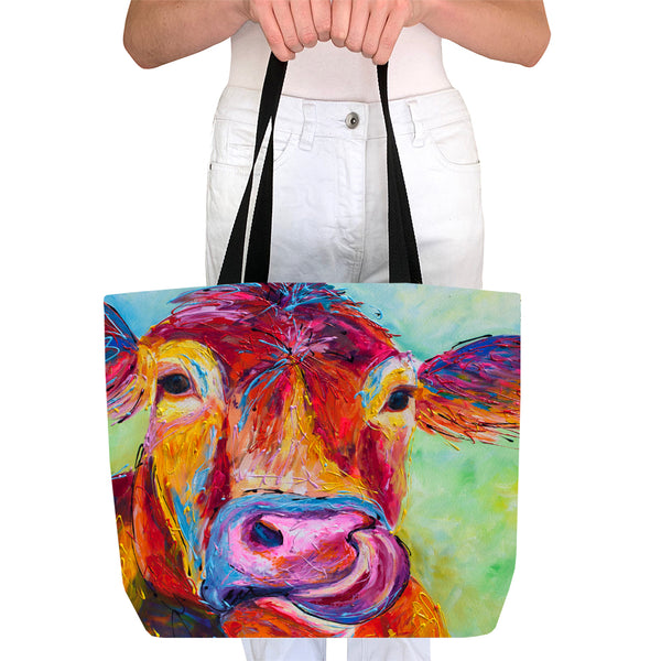 Tote Bag - Jersey Cow