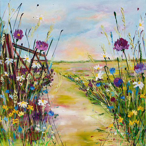 Canvas Print of 'Cotswolds'