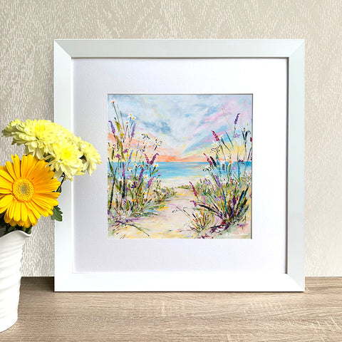 Framed Print - In the Breeze