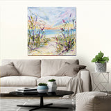 Canvas Print of 'In the Breeze'
