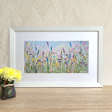 Framed Print - My Meadow (Landscape version)