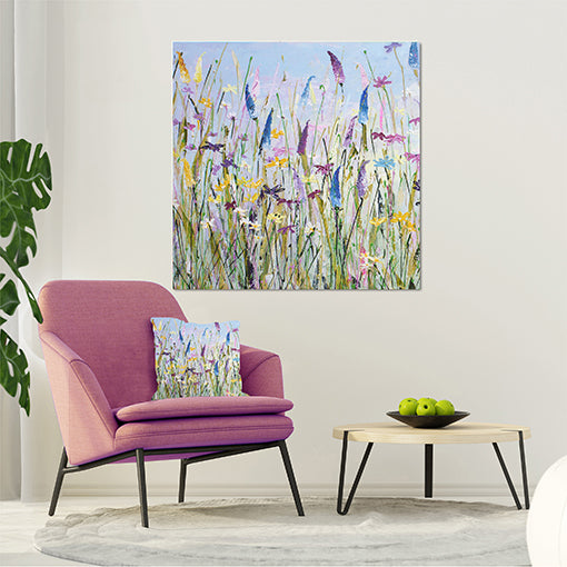 Canvas Print of My Meadow - Square