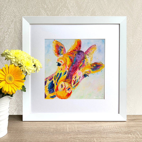Framed Print - Lofty Giraffe