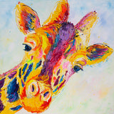 Canvas Print of 'Lofty Giraffe'