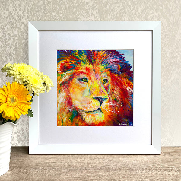 Framed Print - Lion, Pride