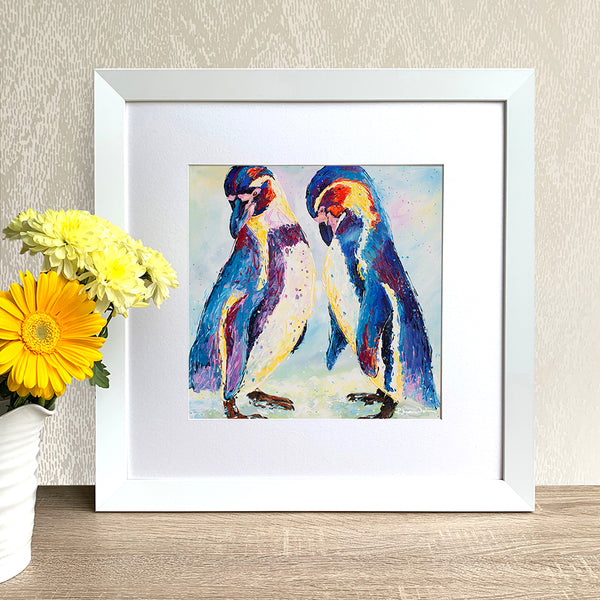Framed Print - Penguins