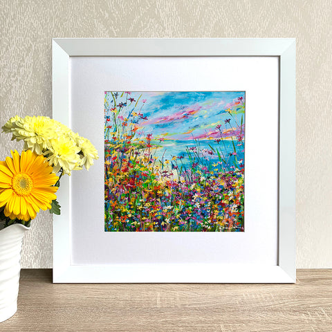 Framed Print - Summer's Here