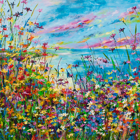 Canvas Print of 'Summer's Here'