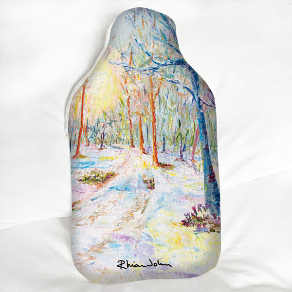 Hot Water Bottle - Enchanted Forest
