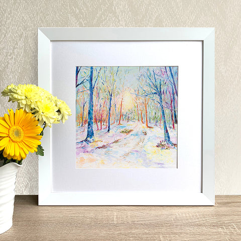 Framed Print - Enchanted Forest