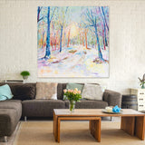 Canvas Print of 'Enchanted Forest'