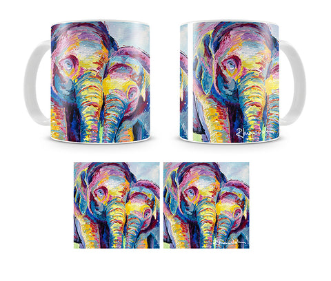 Mug of Elephants Together