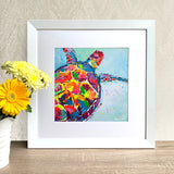 Framed Print - Turtle