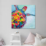 Canvas Print of 'Turtle'