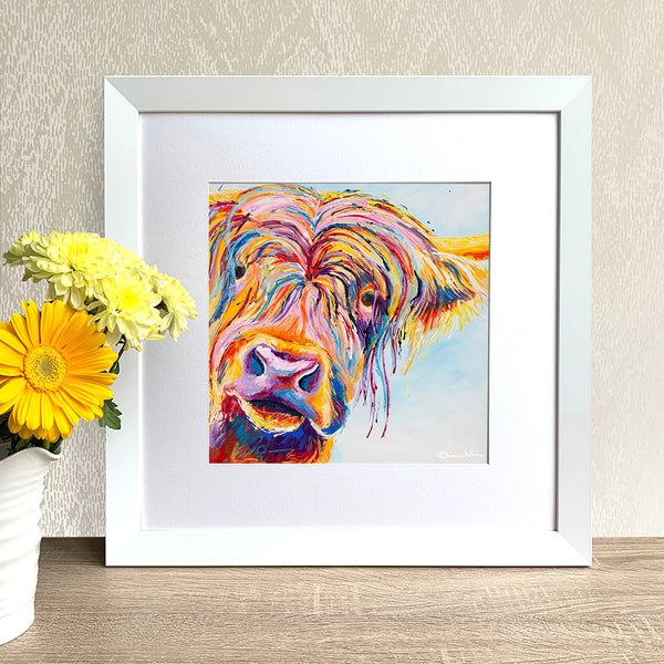 Framed Print - Chater Highland Cow