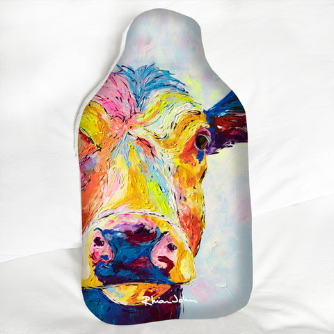 Hot Water Bottle - Clover Cow