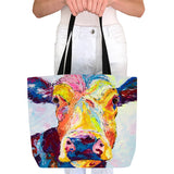 Tote Bag - Clover Cow