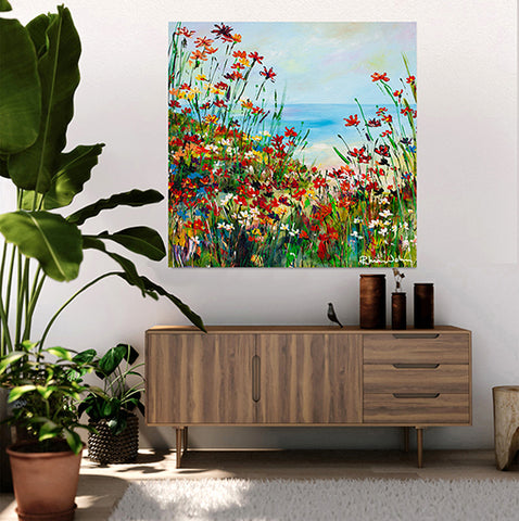 Canvas Print of 'Beach Path'