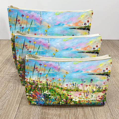 Wash / Makeup Bag of Coastal Path