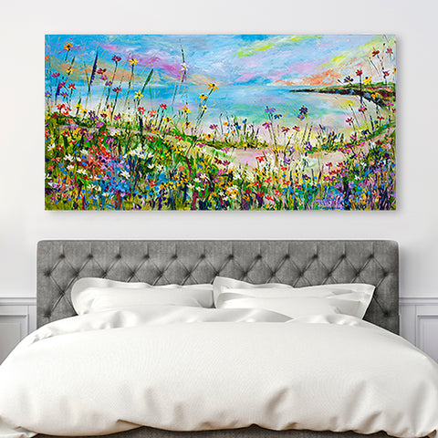 Canvas Print of 'Coastal Path'