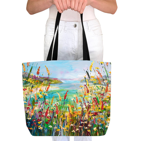 Tote Bag - Blue Lagoon