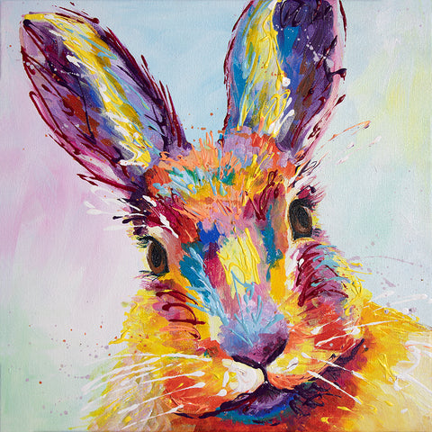 Canvas Print of 'Bella Bunny'