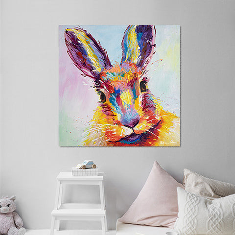 Canvas Print of Bella Bunny Rabbit