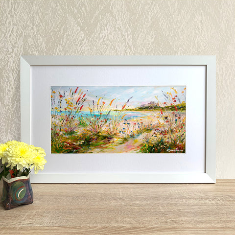 Framed Print - Castle View
