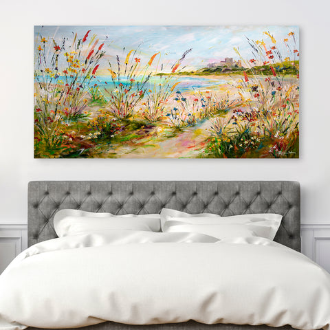 Canvas Print of 'Castle View'