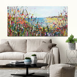 Canvas Print of 'Out to Sea'