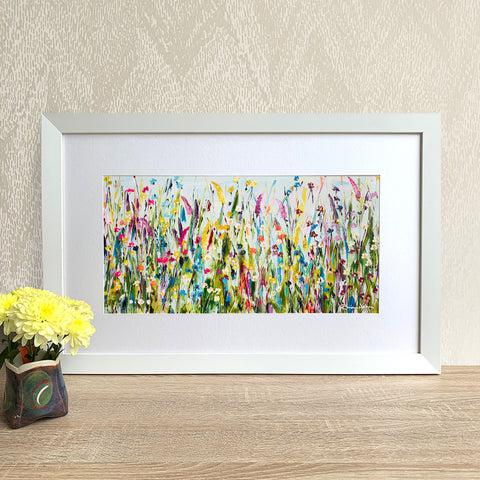 Framed Print - Green Meadow