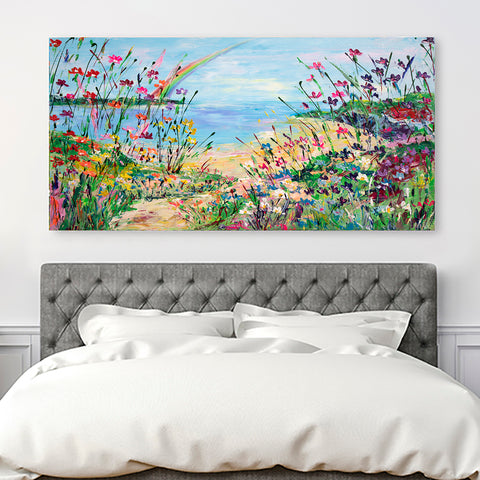 Canvas Print of 'Over the Rainbow' (landscape shape)