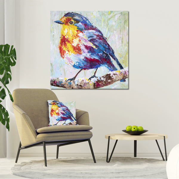 Canvas Print of Robin