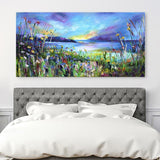 Canvas Print of 'Evening Sunset'