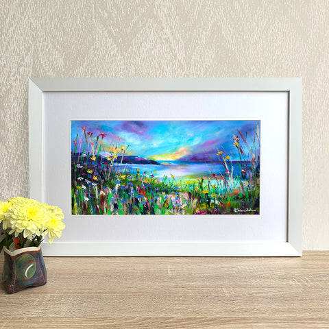 Framed Print - Evening Sunset