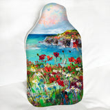 Hot Water Bottle - Poppy Cove