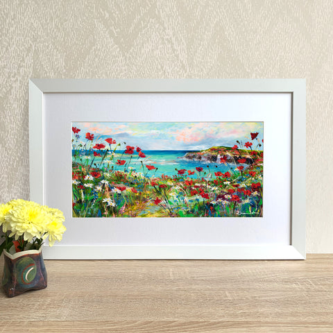 Framed Print - Poppy Cove