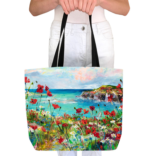 Tote Bag - Poppy Cove