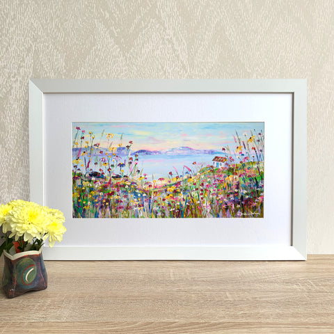 Framed Print - Coastal Retreat