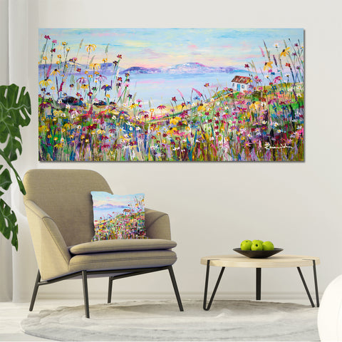 Canvas Print of Coastal Retreat