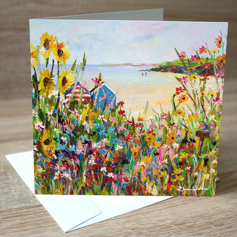 'Perfect Summer' blank greetings card