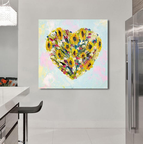 Canvas Print of 'All My Love'
