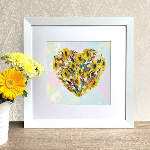 Framed Print - All My Love