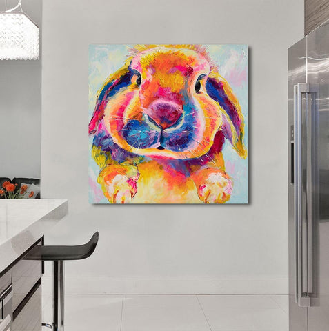 Canvas Print of 'Flopsy Bunny'